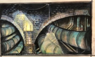 guys and dolls backdrop